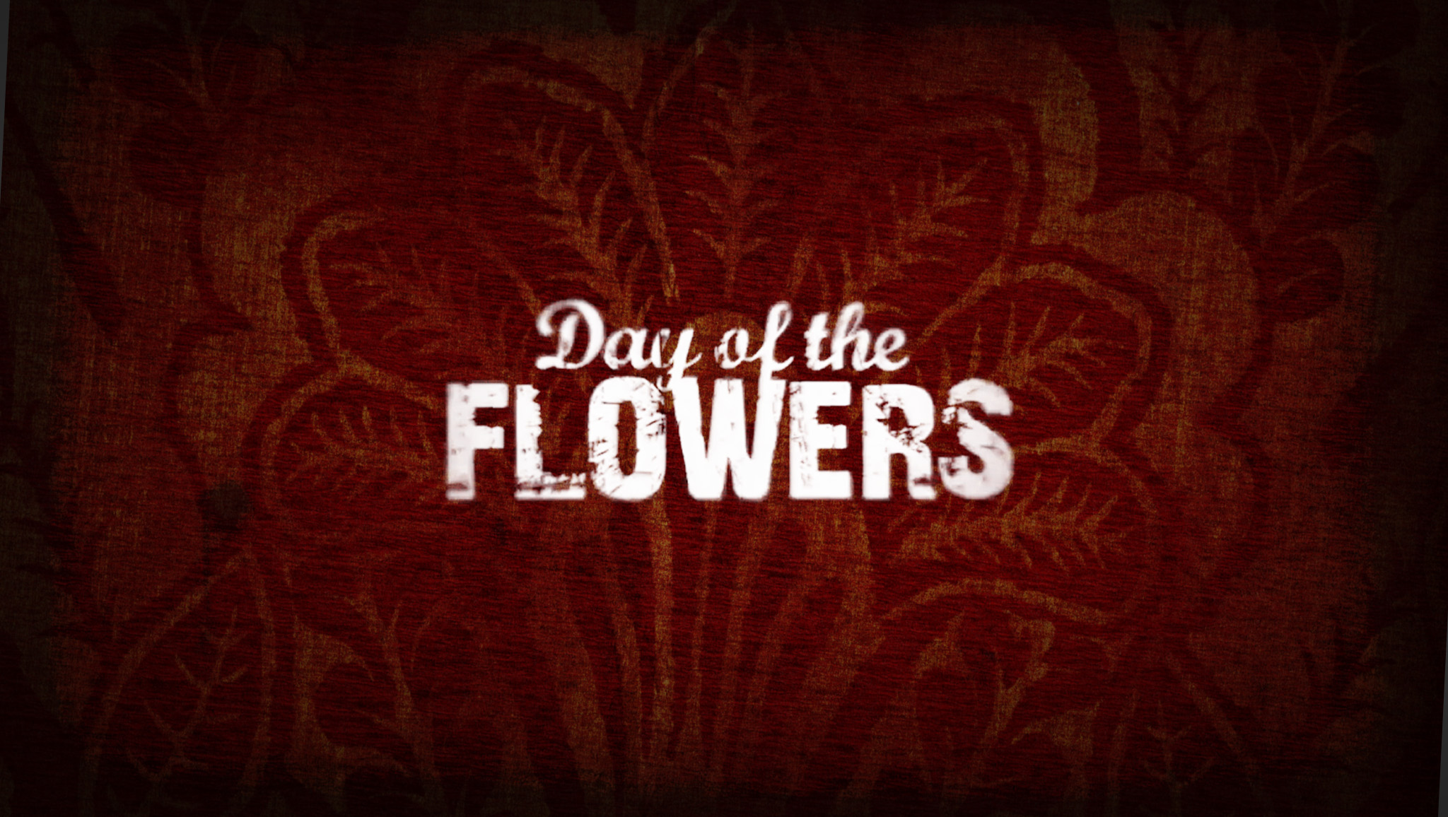 Day of the Flowers main title frame