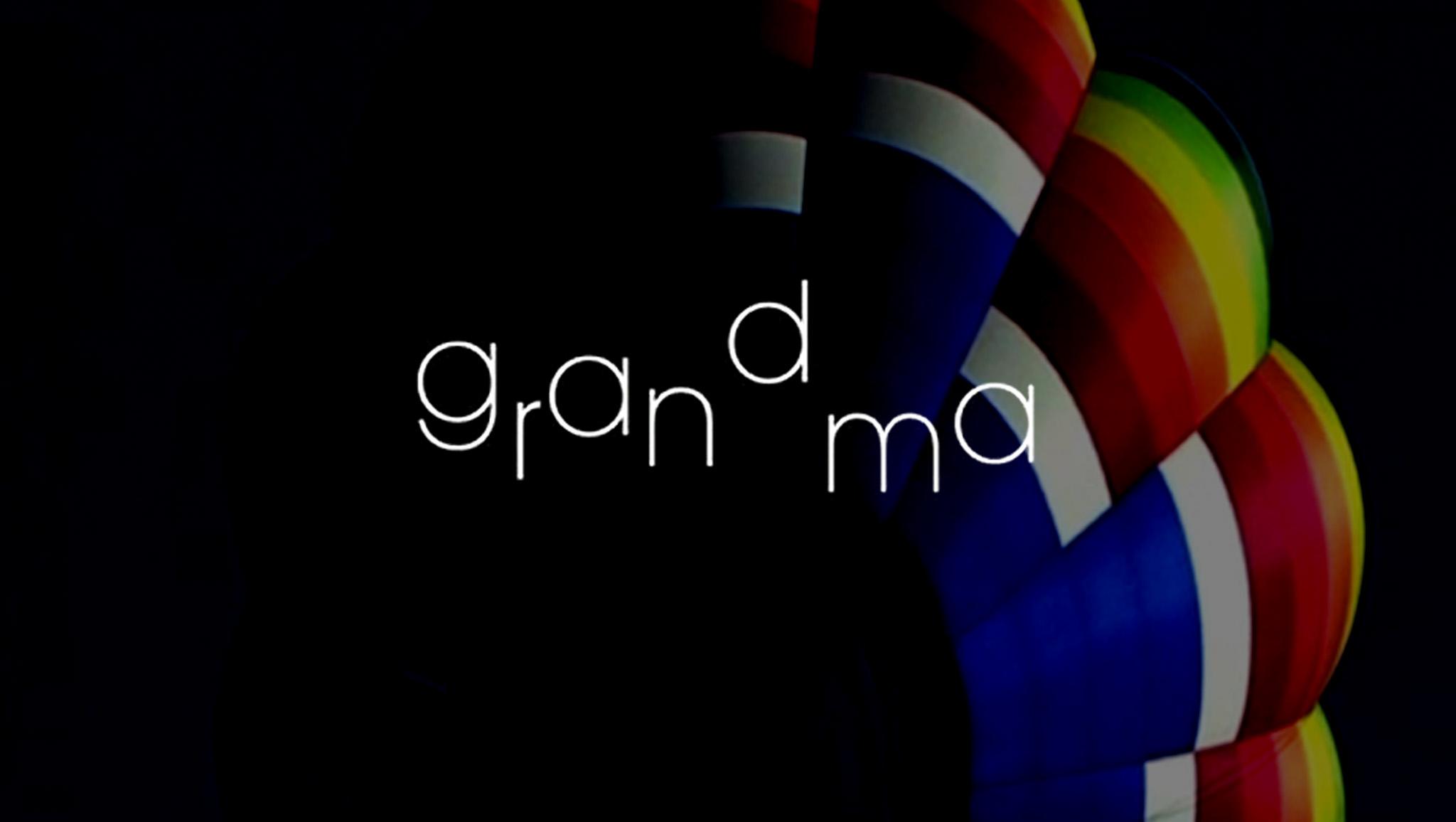 Grandma Main Title Frame