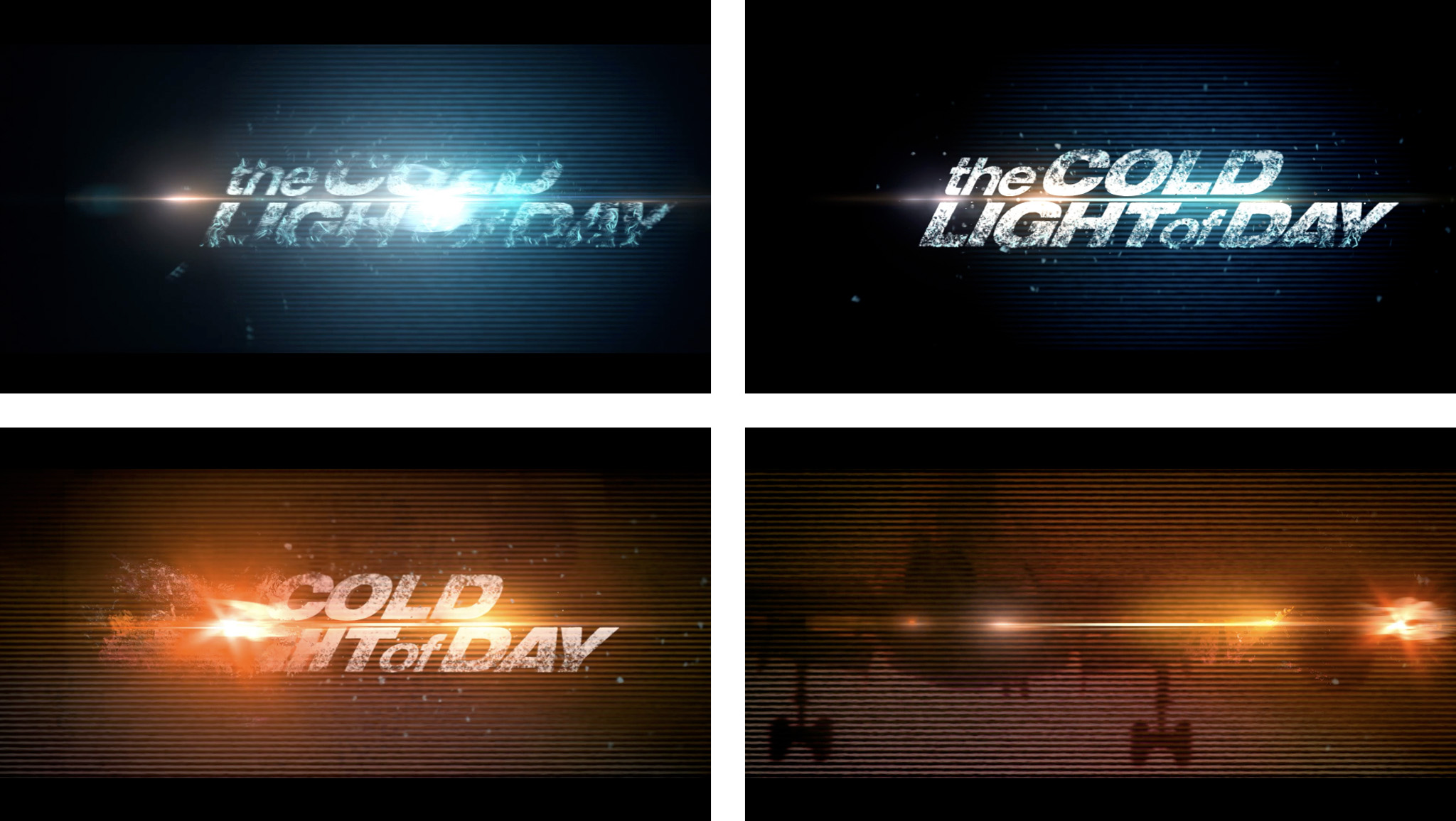 The Cold Light of Day Main Title