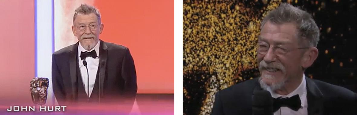 John Hurt Wins BAFTA
