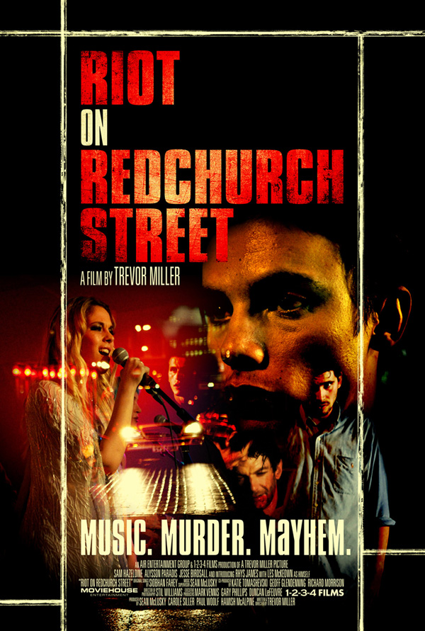 Riot on Redchurch Street Official Poster