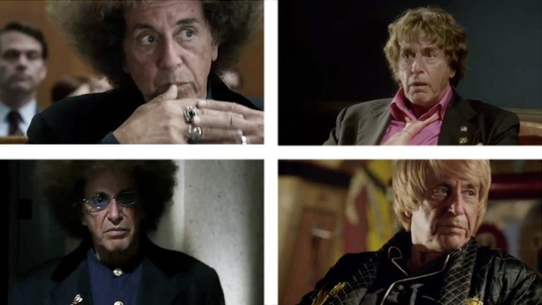 Phil Spector played by Al Pacino
