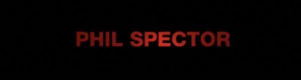 Phil Spector trailor logo