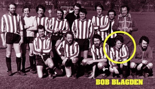 Bob Bagden 1970s football team