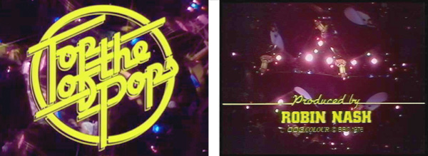 Top of the Pops 1970s Logo