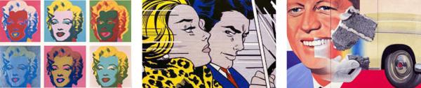 Warhol Lichtenstein Rosenquist