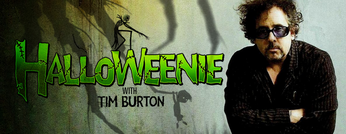 Halloweenie with TIm Burton