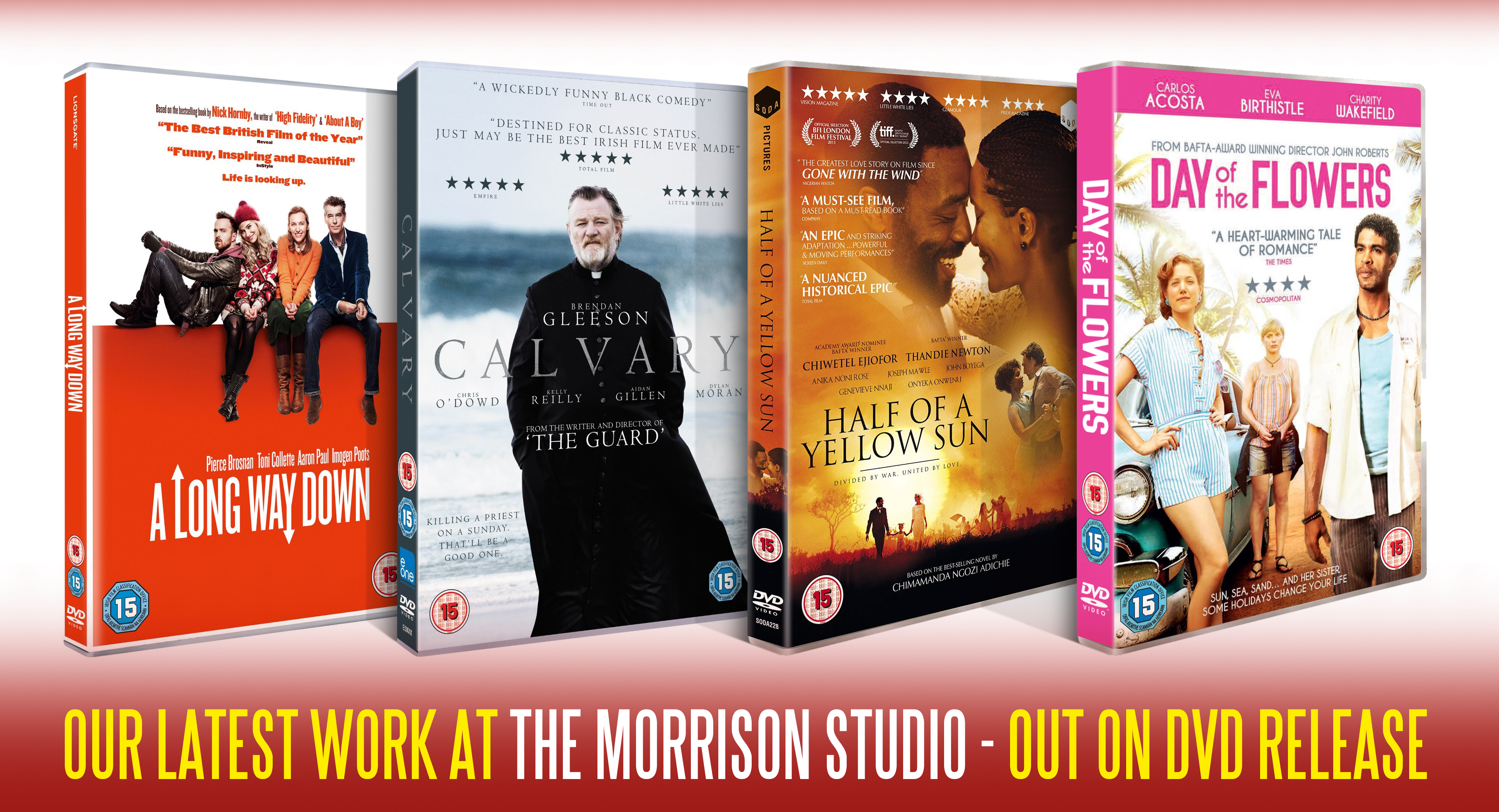 The Morrison Studio DVD Releases